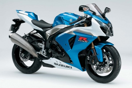 The new 2009 Suzuki gsxr