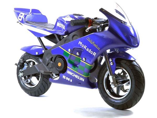 blue minimoto for sale