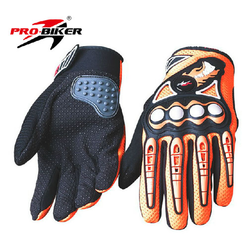 dr midimoto racing gloves orange