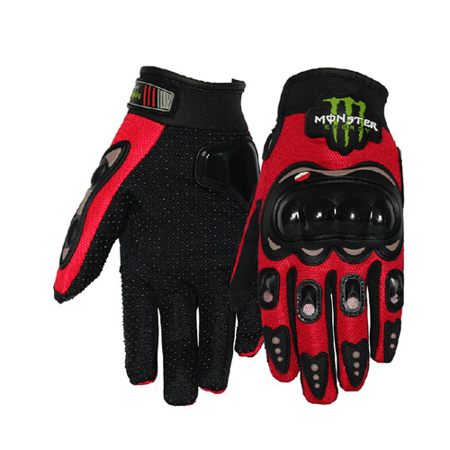 dirtbike racing gloves red